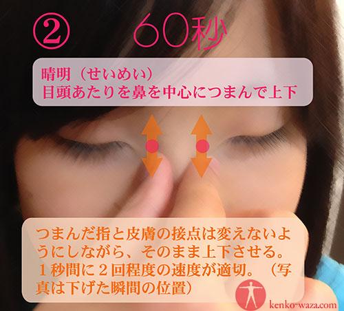 視力回復 つぼ2