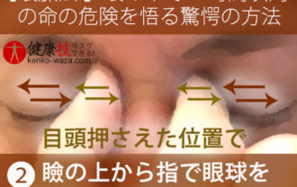 【眼脈法!】眼の中だけで24時間以内の命の危険を悟る驚愕の方法!3