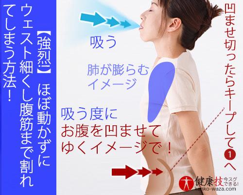 【強烈!】ほぼ動かずにウェスト細くし腹筋まで割れてしまう方法!おまけに肝臓にも良い!健康技