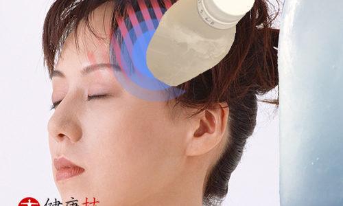 頭痛に氷鎮痛法 健康技